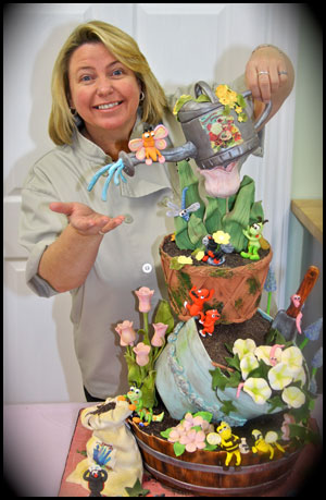 Susan Carberry owner of The Cake Cottage murrieta.